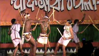 Tribal People Dancing at Tribal festival 2014