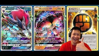 Powerful BUZZWOLE GX Deck, The STRONGEST GX Of Crimson Invasion, Zoroark GX Build