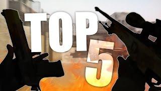 MI TOP 5 SKINS EN CSGO