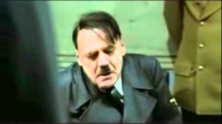 Hitler's reaction after hearing Rebecca Black's