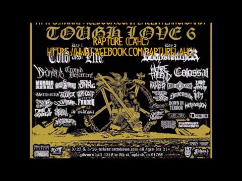 Tough Love Fest 6! Come out and support!