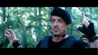 The Expendables 2    Most Epic Moments + Best Parts of Chuck Norris, Arnold & .....
