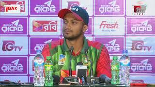 Shakib Al Hasan's Press Conference after Winning 3rd ODI of Tri Nation Series 2018