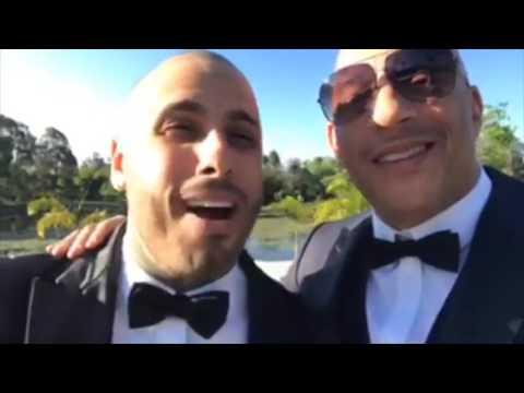 En video: Vin Diesel en la boda de Nicky Jam en Medellín