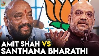 The Amit Shah of South India ? : Santhana Bharathi Interview | LKG Movie, RJ Balaji