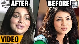 Ayesha Takia's 1st Appearance Post Plastic Surgery | LehrenTV