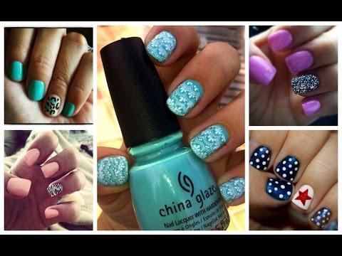 Красим ногти вместе!!!Лак в домашних условиях - это просто)))