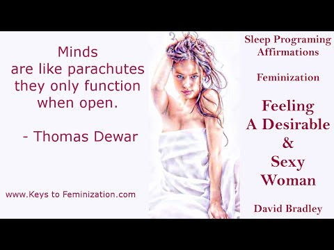 Sleep Programing Affirmations: Feminization- Feeling a Desirable and Sexy Woman