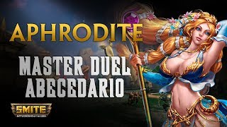 Aphrodite, El antihealing esta potente - Smite Master Duel Abecedario S6
