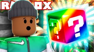 OPENING THE NEW RAINBOW BLOCK!!   Roblox Lucky Blocks