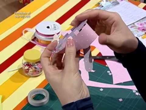Como hacer un zapatito de Bebé en cartulina