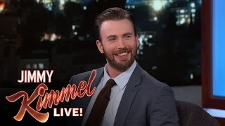 Chris Evans Invited Gronk to the Captain America Premiere