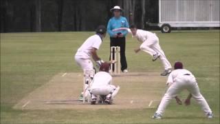 GPS Cricket - Ipswich Grammar v Nudgee College (BATTING) 1st XI