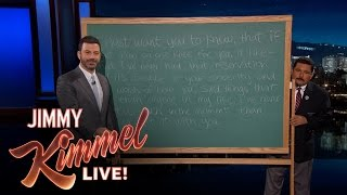 Jimmy Kimmel Analyzes Bachelor Nick Quote