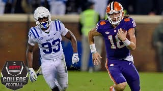 Trevor Lawrence leads No. 2 Clemson past Duke | College Football Highlights