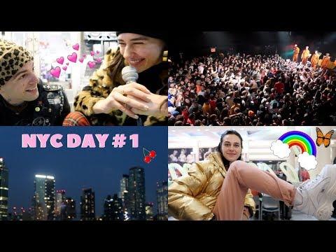 NYC DAY #1~ shopping & seeing brockhampton
