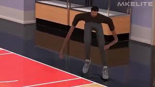 "Dank Video - Long legs Basketball player dancing ""Hotel room service"""