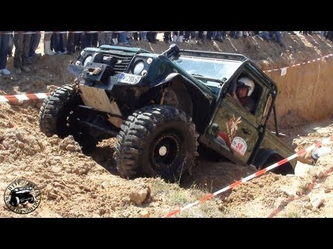 Trial de Casarrubios del Monte 2011 Defender Zorro 4x4