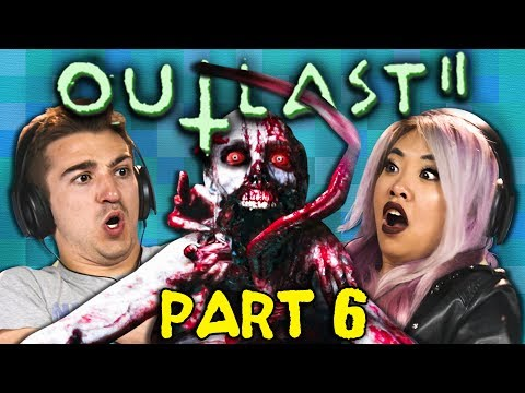 BURIED ALIVE!?!?   OUTLAST 2 - Part 6 (React: Gaming)