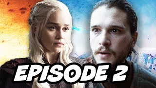 Game Of Thrones Season 7 Episode 2 - TOP 10 WTF and Easter Eggs