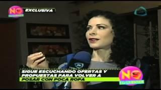 Lourdes Munguia podría posar desnuda otra vez / Lourdes Munguia could pose nude again