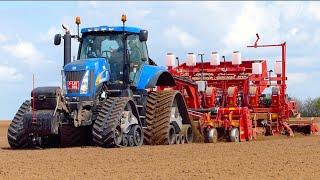 Potato Planting XXL   New Holland T8050 (400HP) + Grimme GL860 Compacta planter   Koolen Bergeijk