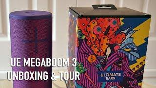 Ultimate Ears Megaboom 3 Unboxing   Full tour!