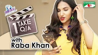 1 TAKE Q/A with Raba Khan | Shafi Ahmed | Channel i TV