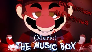 (Mario) The Music Box | RPG Maker Horror [ All Endings ]