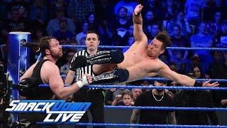 Dean Ambrose vs. The Miz - Intercontinental Title Lumberjack Match: SmackDown LIVE, Jan. 24, 2017