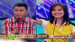 Sunday PinaSaya: Rodney Juterte and Simpleni face-off