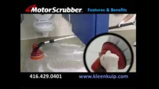 Klenco Motor Scrubber