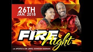 January Fire & Miracle Night  (26th Jan. 2018) PT1 With Apostle Johnson Suleman