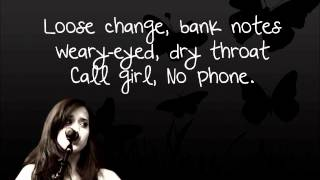 The A Team - Ed Sheeran w/ Lyrics (cover) Megan Nicole