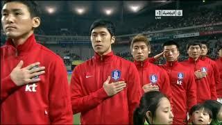 [29.02.2012] South Korea vs Kuwait - national anthems