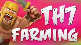 Best TH7 Farming Strategy | Clash of Clans | LOOT!