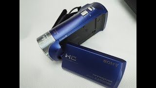 Sony HDR-CX240 Handycam camcorder camera review