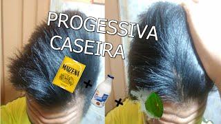 PROGESSIVA CASEIRA l LEITE DE COCO LIMAO E MAIZENA/ CABELO MASCULINO .
