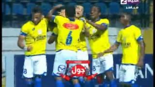 """اهداف مباراة  """" سموحة vs  الإسماعيلي """" 3 / 3  ...... الدورى المصرى 2015 / 2016"""