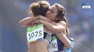 Commozione a Rio2016 per il gesto di Nikki Hamblin e Abbey D'Agostino: cadono e si aiutano a vicenda