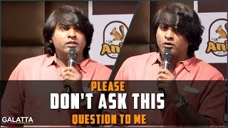 Please don't ask this question to me - Vijay Sethupathi @pressmeet