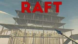 Raft - The Giant Pyramid! - Let's Play The Raft Gameplay