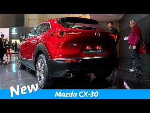 New Mazda CX 30 2019 compact crossover SUV FIRST look Geneva Auto Show 2019