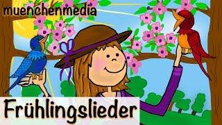 Frühlingslieder Video Mix - Kinderlieder zum Mitsingen   Kinderlieder deutsch - muenchenmedia