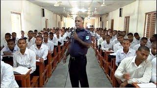 পুলিশ সদস্যদের ট্রেনিং সেন্টারে অত্যন্ত যত্নের সাথে আইন বিষয়ে প্রশিক্ষণ প্রদান করা হয়।BD Police News