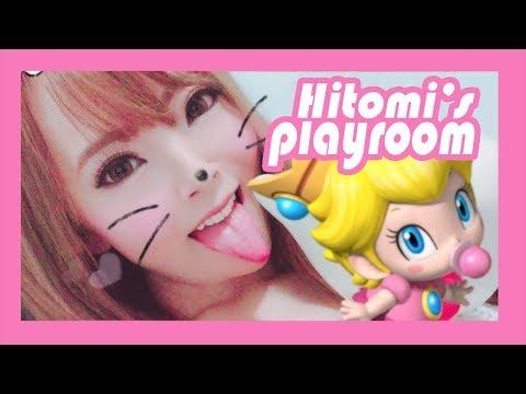 Hitomi's Playroom: Mario Kart 8 Deluxe!