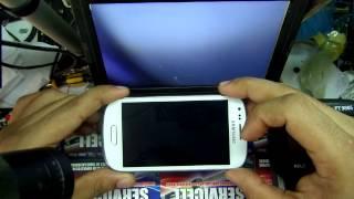 reparacion Samsung I8190 Galaxy S III mini no enciende , repair s3 mini dead