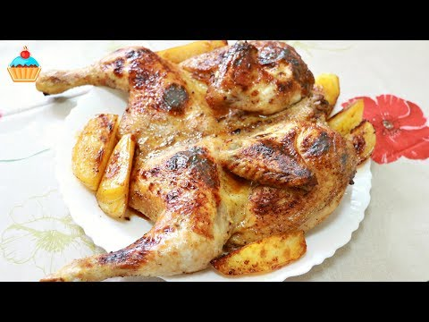 Курица разделанная в духовке рецепты