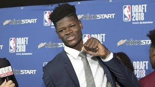 6th pick 1st round - Mo Bamba (Magic) | 2018 NBA Draft