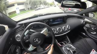 S63 AMG Coupe - POV First impressions